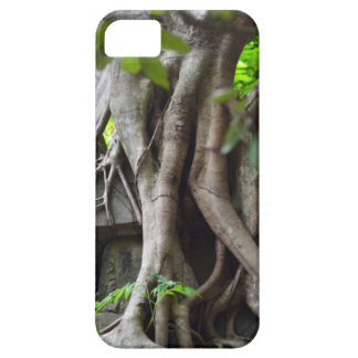 Ruins of a temple lost in a lush jungle barely there iPhone 5 case
