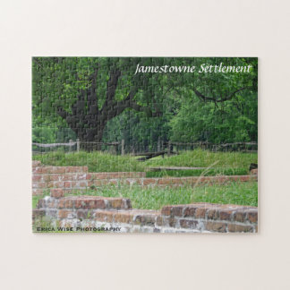 Ruins of Jamestown Jigsaw Puzzle