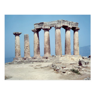 Ruins of the Temple of Apollo, c.550 BC Postcard