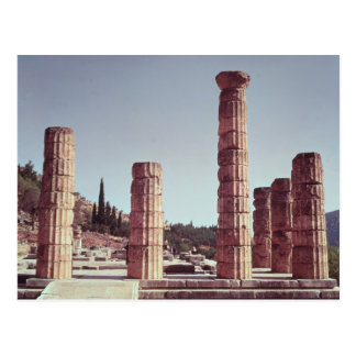 Ruins of the Temple of Apollo Postcard