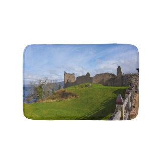 Ruins of Urquhart Castle along Loch Ness, Scotland Bath Mat
