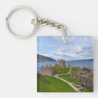Ruins of Urquhart Castle along Loch Ness, Scotland Key Ring