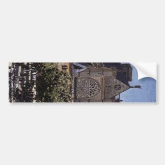 rukuseoa church of sanjieruman bumper sticker