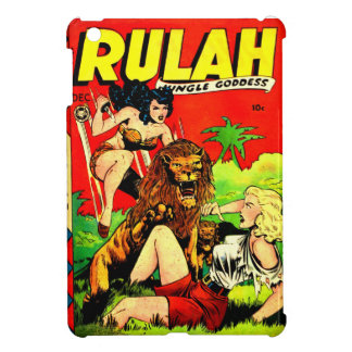 Rulah and a Big Scary Lion iPad Mini Covers