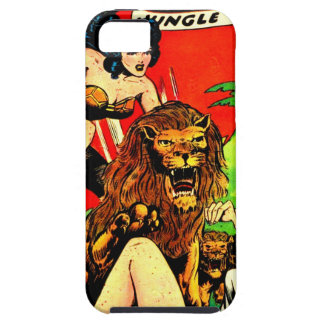 Rulah and a Big Scary Lion Tough iPhone 5 Case