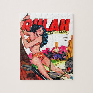 Rulah and the Big Ape Jigsaw Puzzle