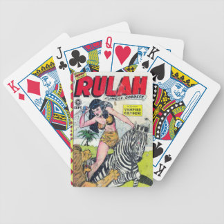 Rulah, Jungle Goddess Bicycle Playing Cards