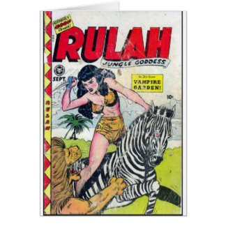 Rulah, Jungle Goddess Card