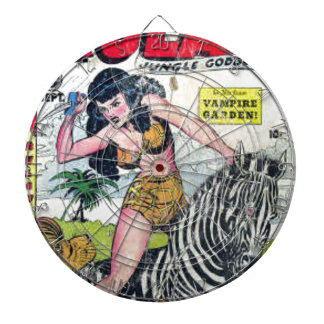 Rulah, Jungle Goddess Dartboard
