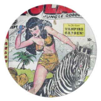Rulah, Jungle Goddess Plate