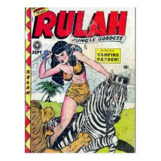 Rulah, Jungle Goddess Postcard