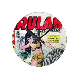 Rulah, Jungle Goddess Round Clock