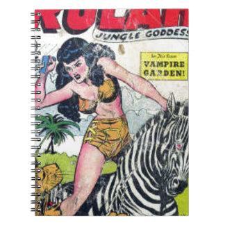 Rulah, Jungle Goddess Spiral Notebook
