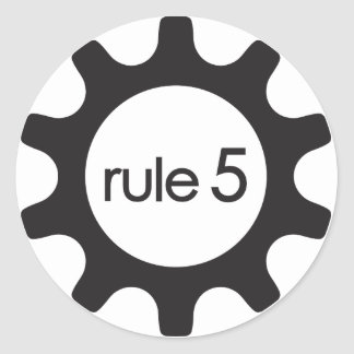 Rule5 Icon Sticker