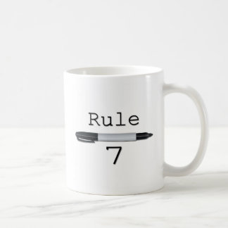 Rule 7 (Logo) Coffee Mug