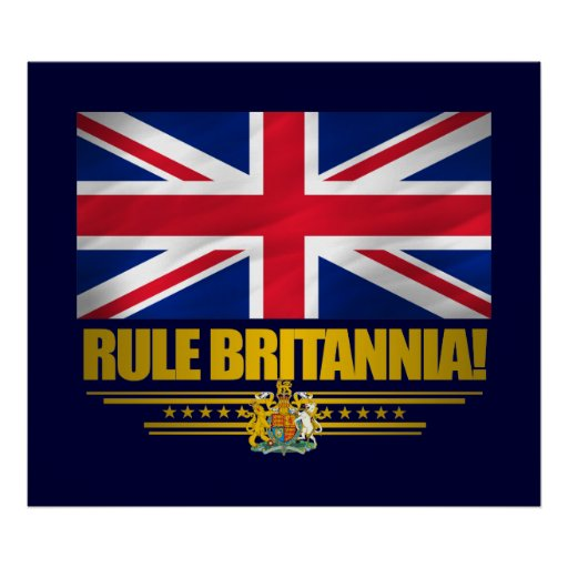 Rule Britannia! Posters