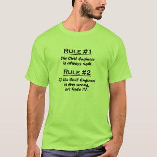 Rule Civil Engineer T-Shirt