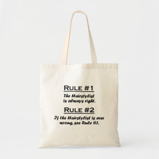 Rule Hairstylist Canvas Bag