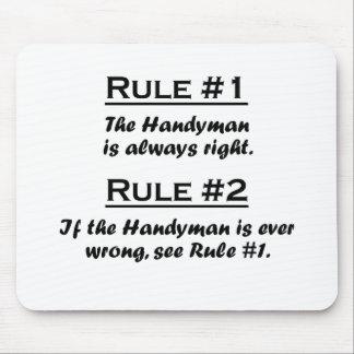 Rule Handyman Mousepads