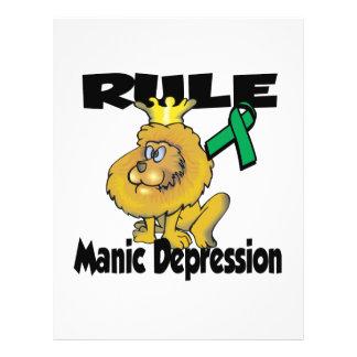 Rule Manic Depression 21.5 Cm X 28 Cm Flyer