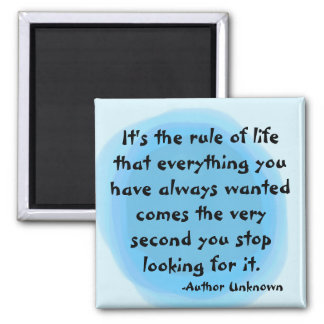 """""""RULE OF LIFE"""" MAGNET"""