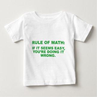 Rule Of Math Tshirts