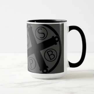 Rule of St. Benedict Mug (Benedicine Cross Mug)
