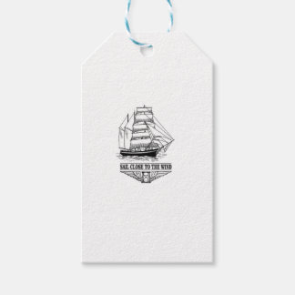 rule sail close to the wind gift tags