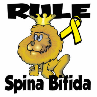 Rule Spina Bifida Photo Sculpture Key Ring