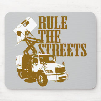 Rule The Streets Mouse Pad