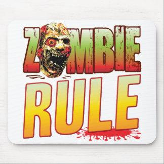 Rule Zombie Head Mousemats