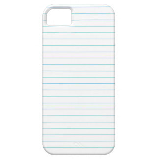 RULED LINED PAPER CASE FOR THE iPhone 5