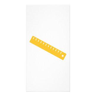 Ruler Custom Photo Card