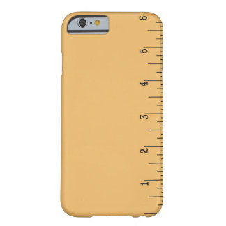 Ruler iPhone 6 case