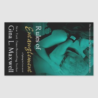Rules of Entanglement by Gina L. Maxwell Rectangular Sticker