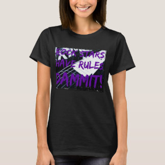 Rules of Rock Stars women's t-shirt