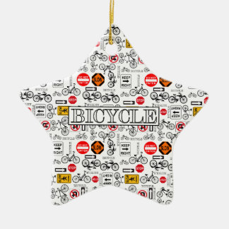 Rules of the Road Ceramic Star Decoration