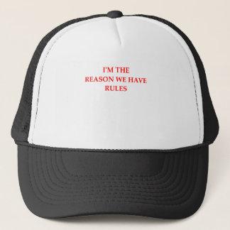 RULES TRUCKER HAT