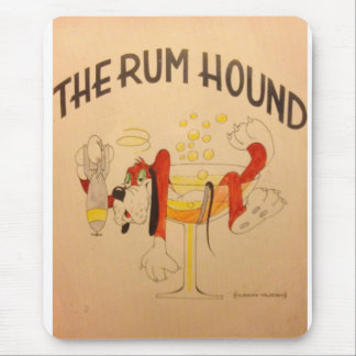 Rum Hound Mouse Pad