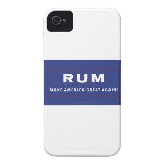 Rum Make America Great Again Case-Mate iPhone 4 Case