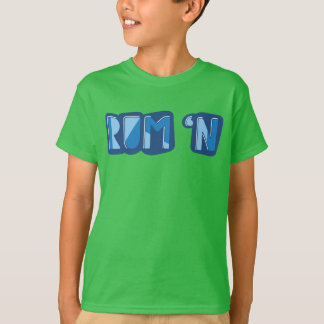 Rum 'n, English, Yorkshire Slang Tee Shirt