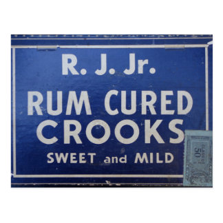 Rum Soaked Crooks Postcard