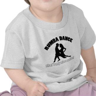 Rumba dance designs t shirt