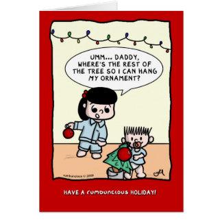 rumbuncious™ Holiday 2009 Greeting Card