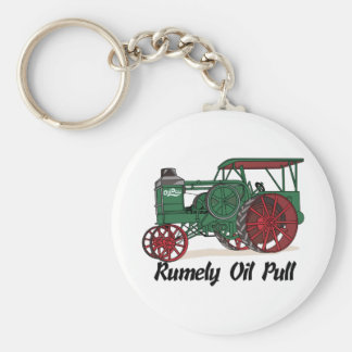 Rumely Oil Pull Tractor Key Ring
