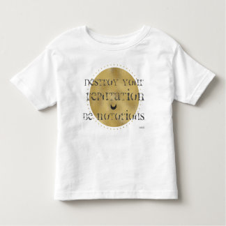 """Rumi """"Destroy your Reputation, Be Notorious"""" Shirt"""