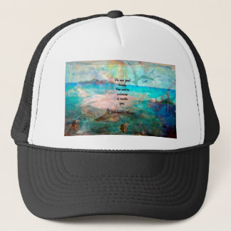 Rumi Inspiration Quote About The Universe Trucker Hat