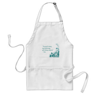 Rumi love quote standard apron