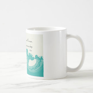 Rumi Ocean quote Coffee Mug