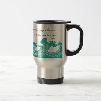 Rumi Ocean quote Travel Mug